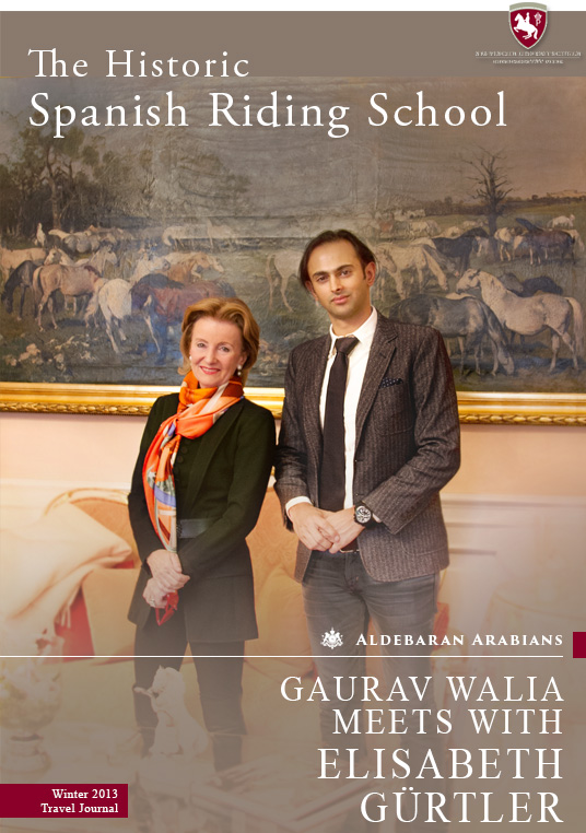 Mr. Gaurav Walia meets with Mrs. Elisabeth Gurtler, CEO of Spanish Riding School