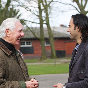 DR HANS NAGEL WITH GAURAV WALIA